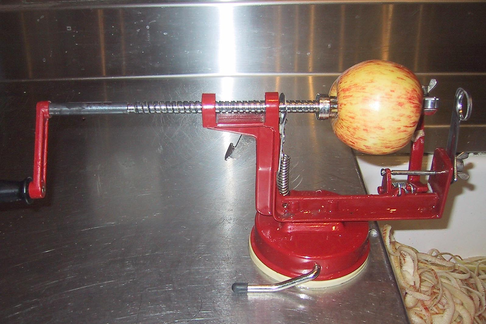 The magical apple machine